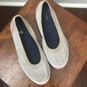Nautica Slip-on Canvas Boat Loafers